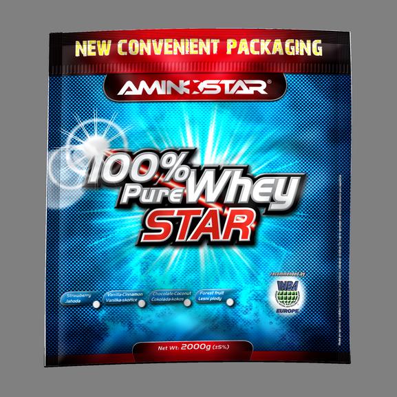 Aminostar 100% Pure Whey Star 25 g jahoda