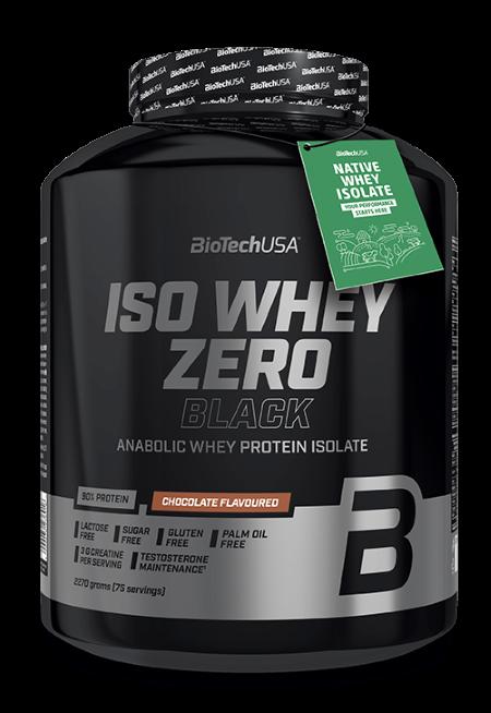 BioTech USA Iso Whey Zero Black 2270 g Vanilla