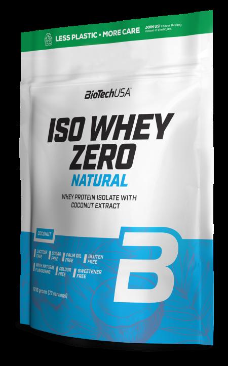 BioTech USA Iso Whey Zero Natural 1816 g coconut