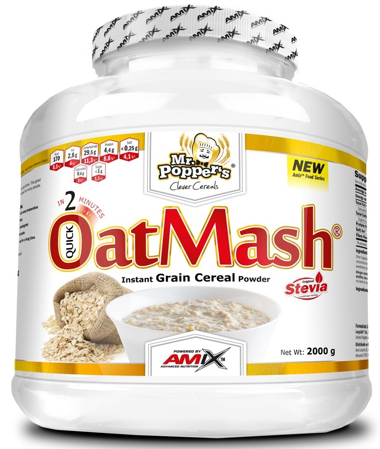 Amix Mr.Poppers Oat Mash 2000g Banoffee
