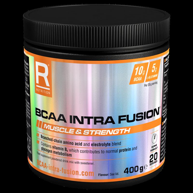 Reflex Nutrition BCAA Intra Fusion 400g ovocná směs