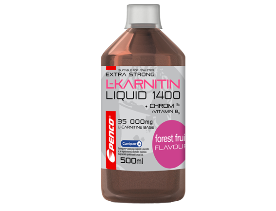 Penco L-Karnitin Liquid Extra Strong 1400 500ml lesní plody