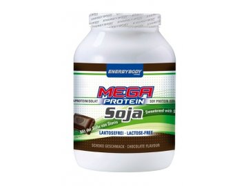 Energybody Mega protein Soja 750g čokoláda