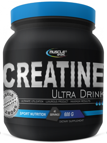 MUSCLESPORT Creatine Ultra Drink 600g orange