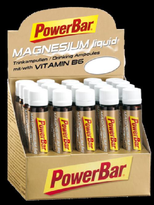 PowerBar MAGNESIUM Liquid 20x25ml citron