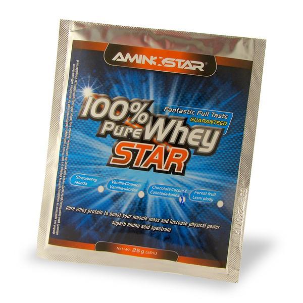 Aminostar 100% Pure Whey Star 25 g kokos - čokoláda