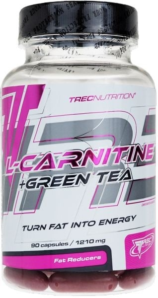 Trec L-Carnitine + Green Tea 90kapslí
